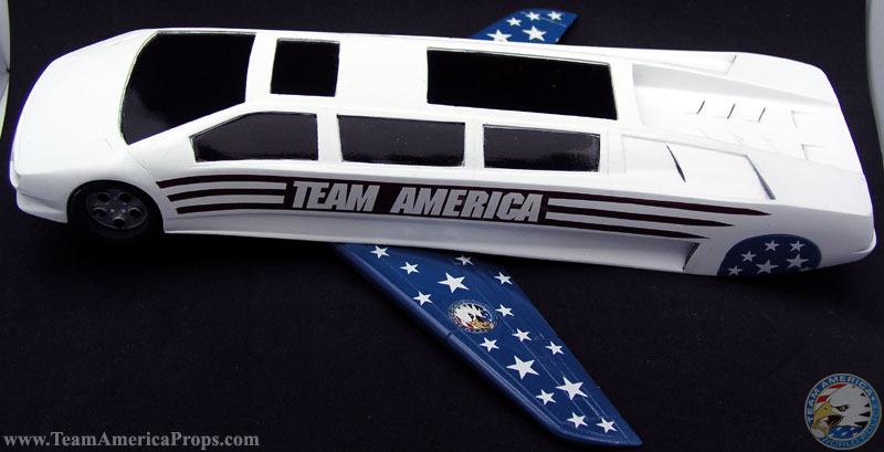 Lamborghini Limousine With Retractable Wings From Team America